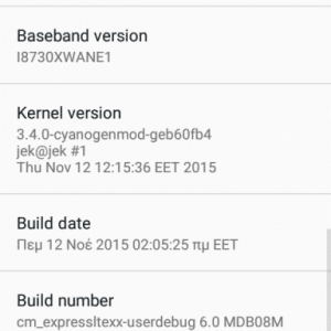 GT I8730 Cm 13 3 300x300 - Unofficial CyanogenMod 13 Android 6.0 For Galaxy Express GT-I8730