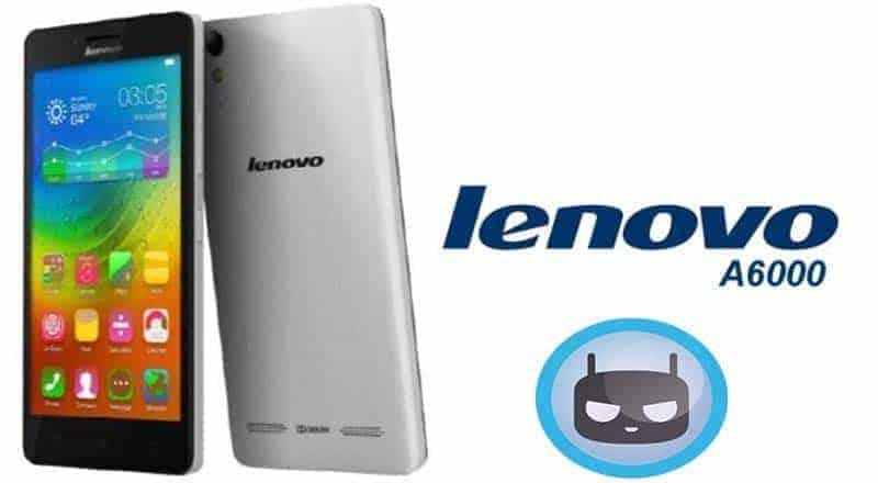 Lenovo A6000 A6000 Plus Cm12.1