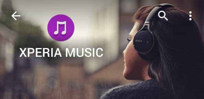 Xperia Music App
