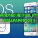 Download HD Full Stock Wallpaper iOS 9 75x75