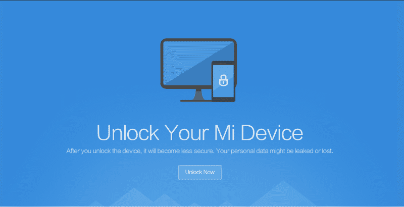 Unlock bootloader xiaomi redmi mi - Unlock Bootloader Of Xiaomi Mi & Redmi Devices With Mi Unlock Tool
