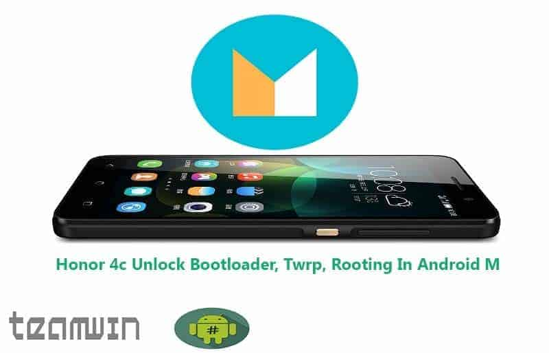 Honor 4c Unlock Bootloader