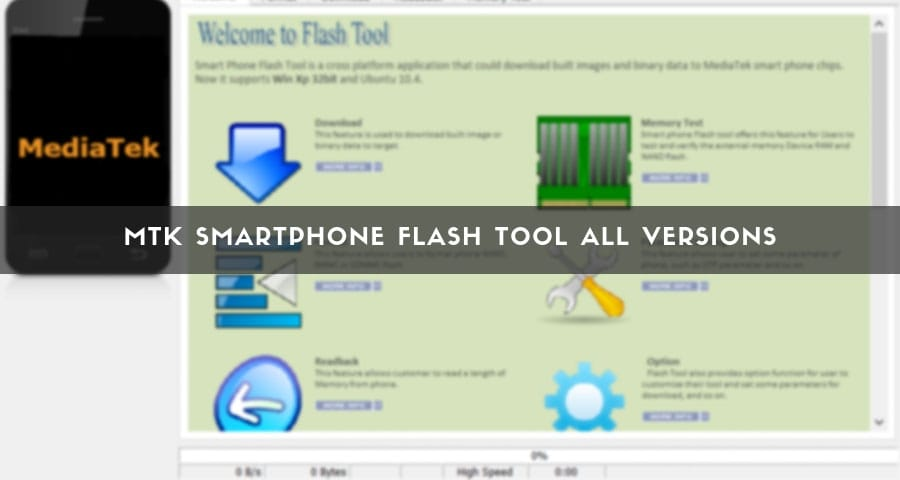Latest MTK SP Flash Tool