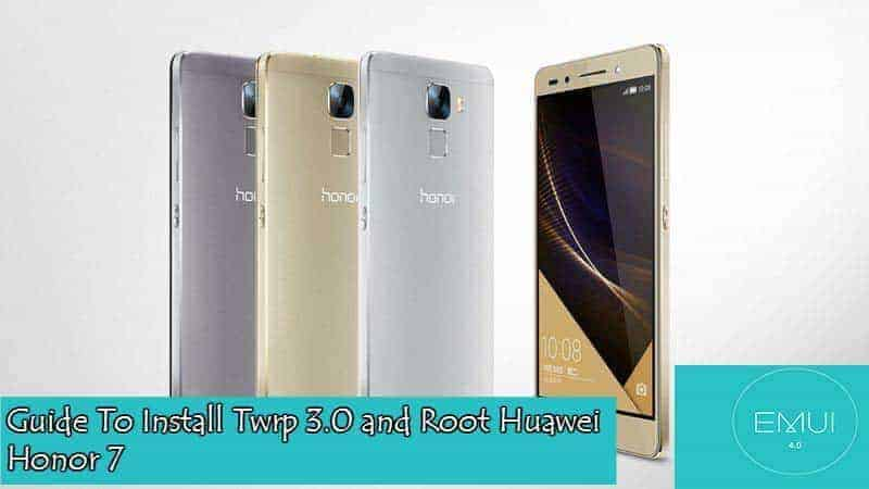 Huawei Honor 7 Emui 4.0 Twrp Root - Guide To Install Twrp 3.0 and Root Honor 7 in EMUI 4.0