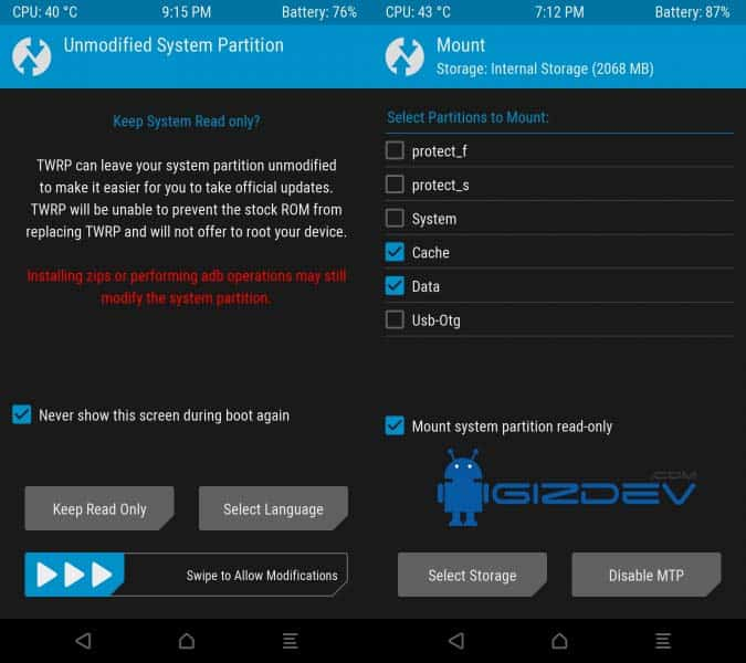 twrp 3 - Easy Way to Install TWRP 3.0 and Root Redmi Note 3 SD