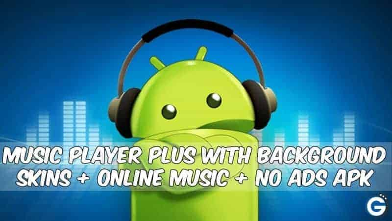 MIUI Music Player Plus With background skins + Online + No Ads
