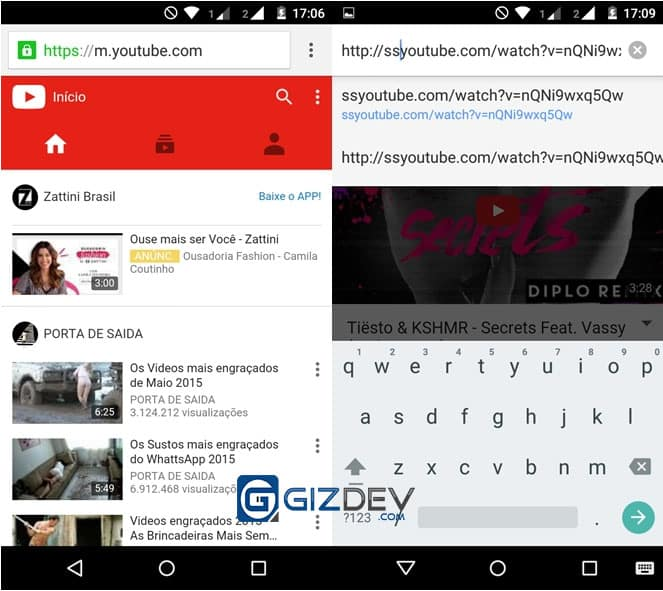 ss youtube android 1