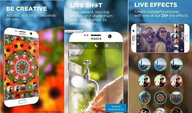 Camera MX android - Top Android Camera apps for Selfie and Photography (2016)