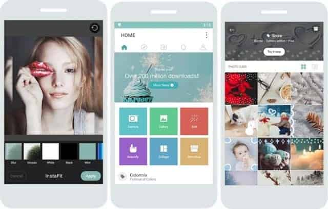 Cymera android - Top Android Camera apps for Selfie and Photography (2016)