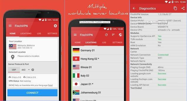 Free vpn for china android phones