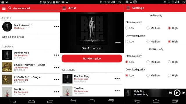 MUSICALL ANDROID - Top Music Streaming apps for Android (2016)