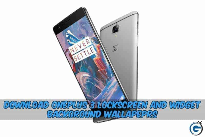 OnePlus 3 LockScreen