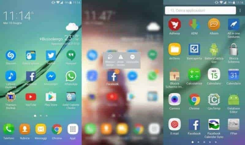 GraceUX Galaxy Note 7 Luncher On Samsung Devices - Enable Samsung Galaxy Note 7 Luncher On Samsung Devices