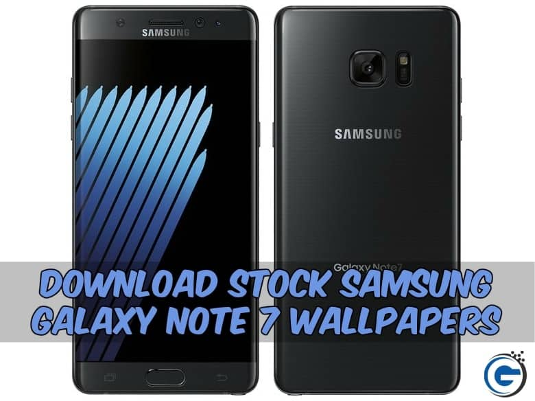 Stock Samsung Galaxy Note 7 Wallpapers