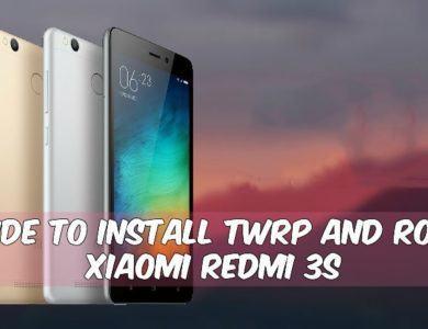 TWRP-Root Xiaomi Redmi 3S