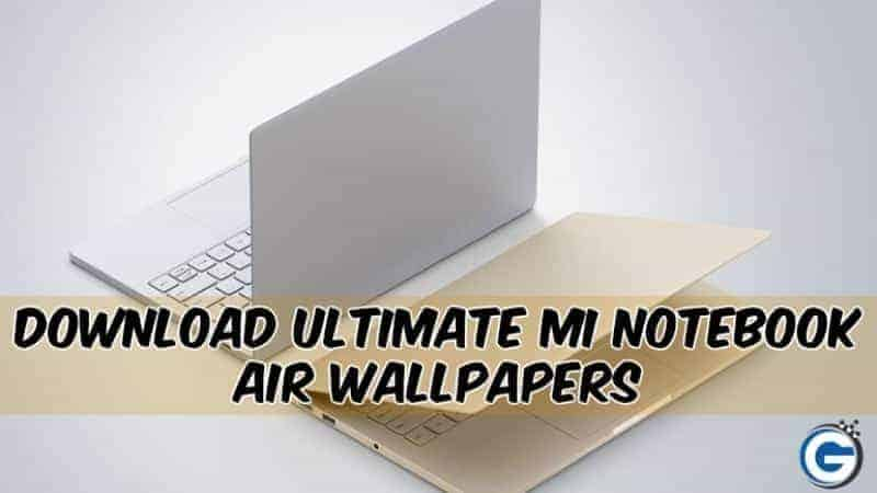 Ultimate Mi Notebook Air Wallpapers