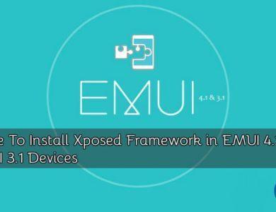 Xposed-framework-EMUI-3.1-4.1