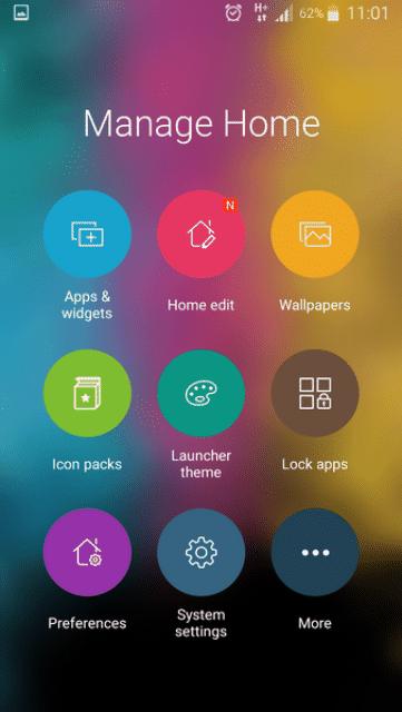 ZenUI Launcher apk 4