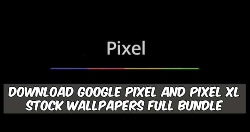 Google Pixel And Pixel XL Stock Wallpapers 1