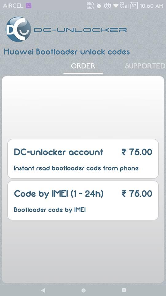 Get Instant Huawei Bootloader Unlock Code Unofficial Method
