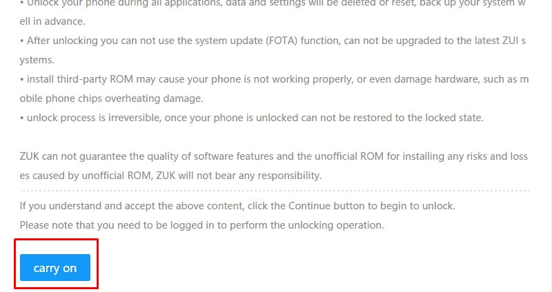 Guide to Unlock Bootloader of Zuk Phones Zuk Z2 Pro, Zuk Z2