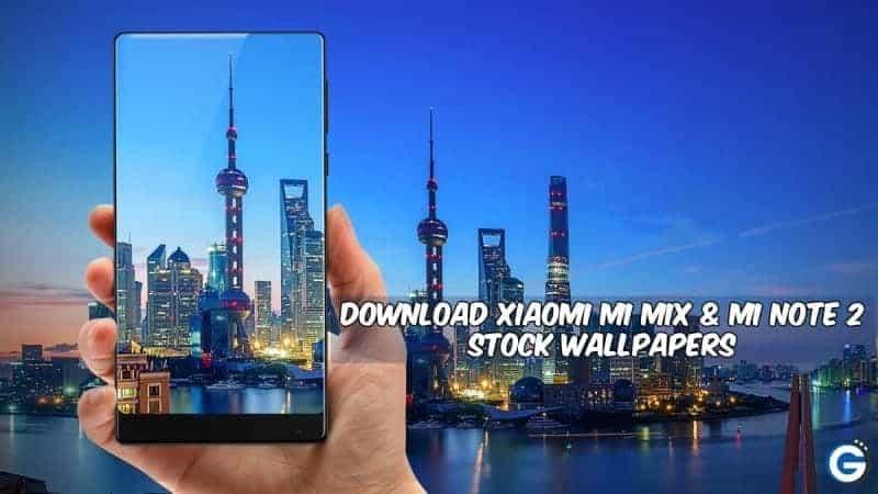 Mi MIX Mi Note 2 Stock Wallpapers