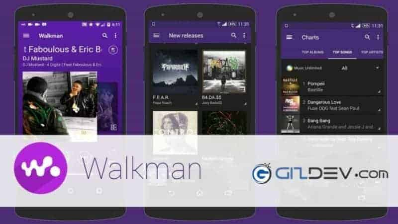 Xperia Music Walkman App - Latest Xperia Music (Walkman) App (9.1.6.A.0.1) For Android Phone