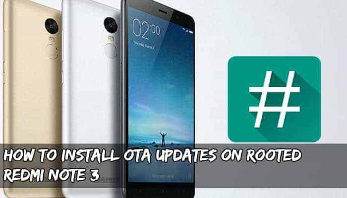 ZCX TWRP Recovery for Rooted Redmi Note 3