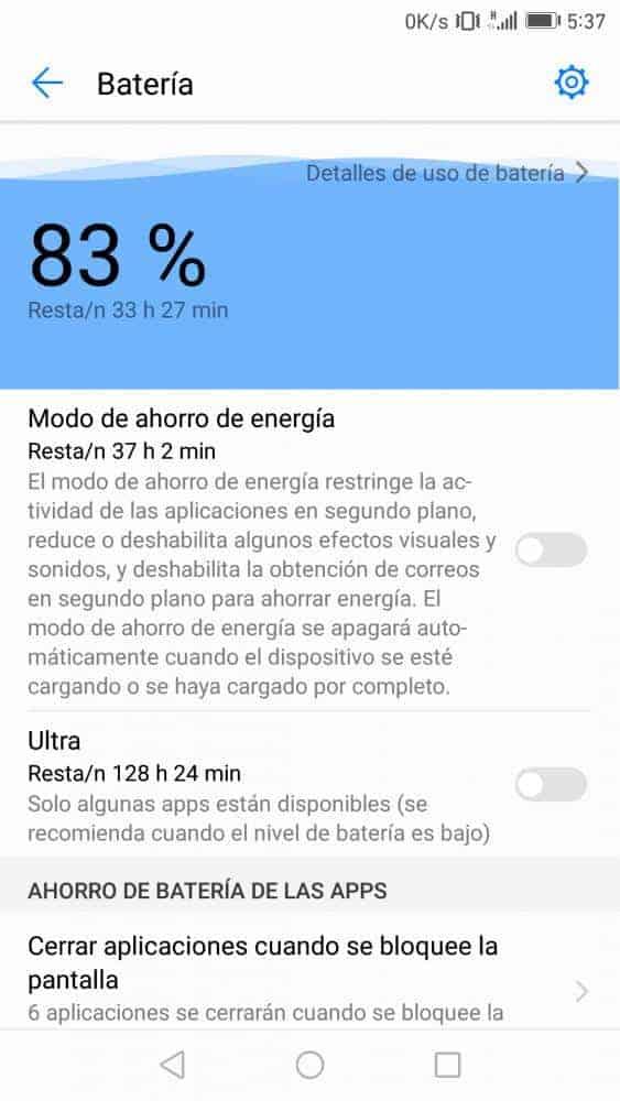 B322 Emui 5.0 Huawei P9 Android 7.0 Nougat OTA 4