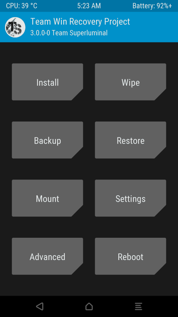 Le Max 2 Twrp 576x1024 - Guide To Install TWRP Recovery And Root Le Max 2