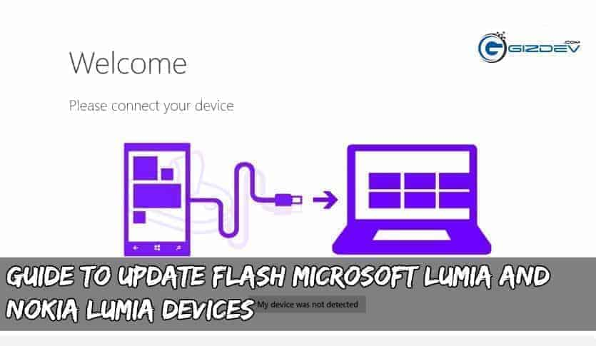 Guide To Update Flash Microsoft Lumia and Nokia Lumia devices (2019)