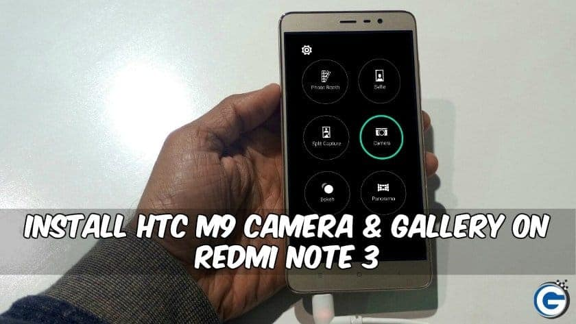 HTC M9 Camera Gallery on Redmi Note 3 - Install HTC M9 Camera & Gallery on Redmi Note 3