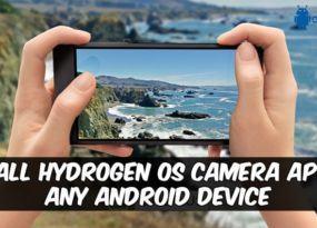 hydrogen-os-camera-app