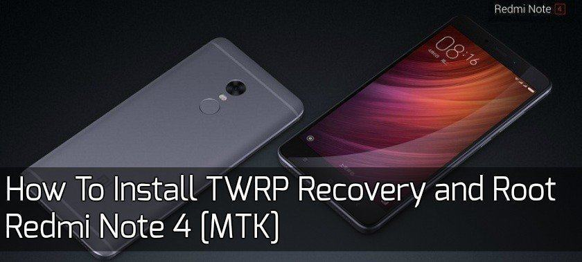 Download Xiaomi Redmi Note 4 Stock Wallpapers In 4k: How To Install TWRP Recovery And Root Redmi Note 4 MTK