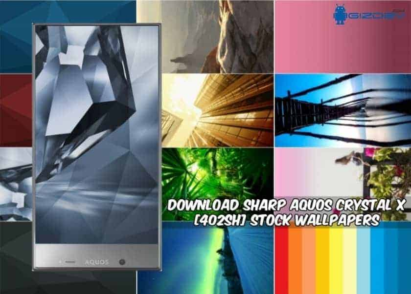 SHARP AQUOS Crystal X Stock Wallpapers