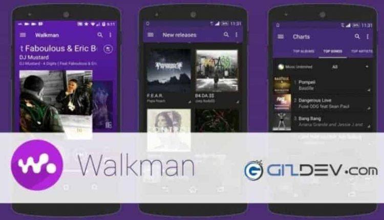 Latest Sony Music App