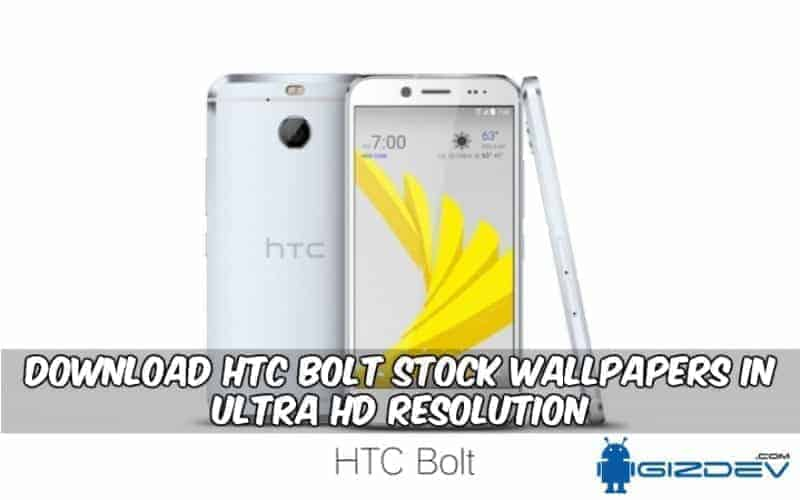 HTC Bolt Stock Wallpapers