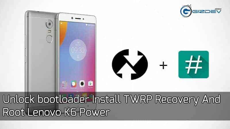 Unlock Bootloader Install TWRP Recovery And Root Lenovo