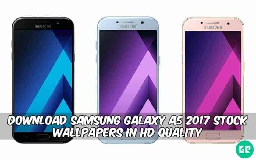 Samsung Galaxy A5 2017 Stock Wallpapers