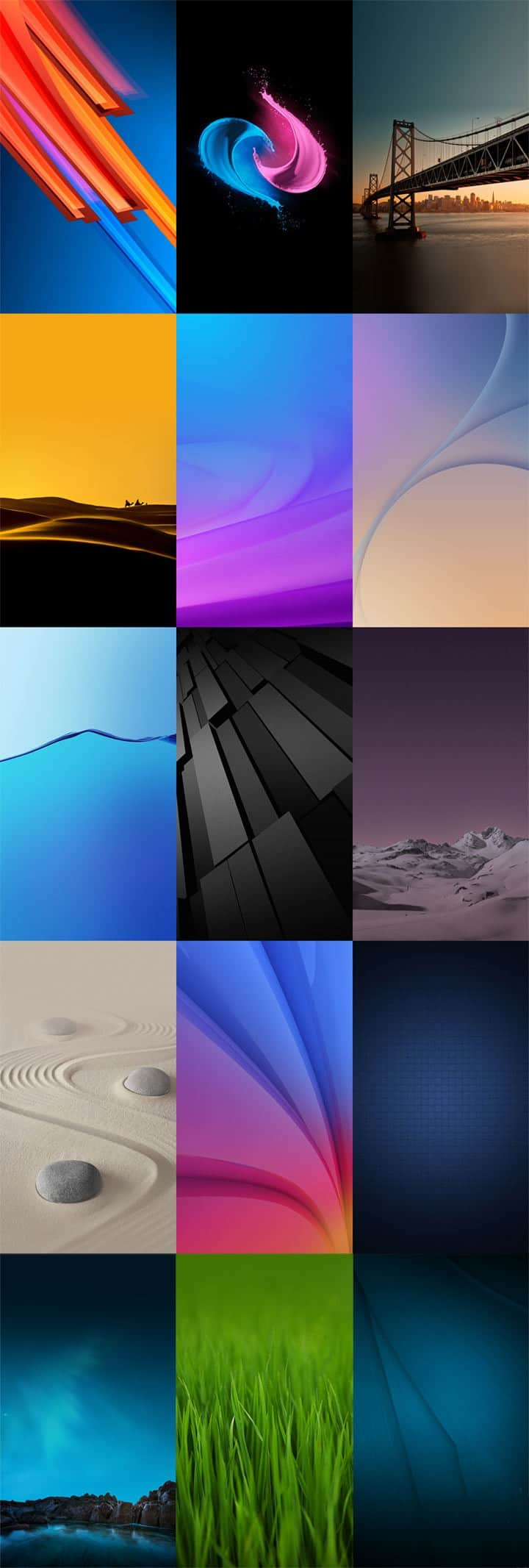 Vivo X5 Pro Stock Wallpapers 1