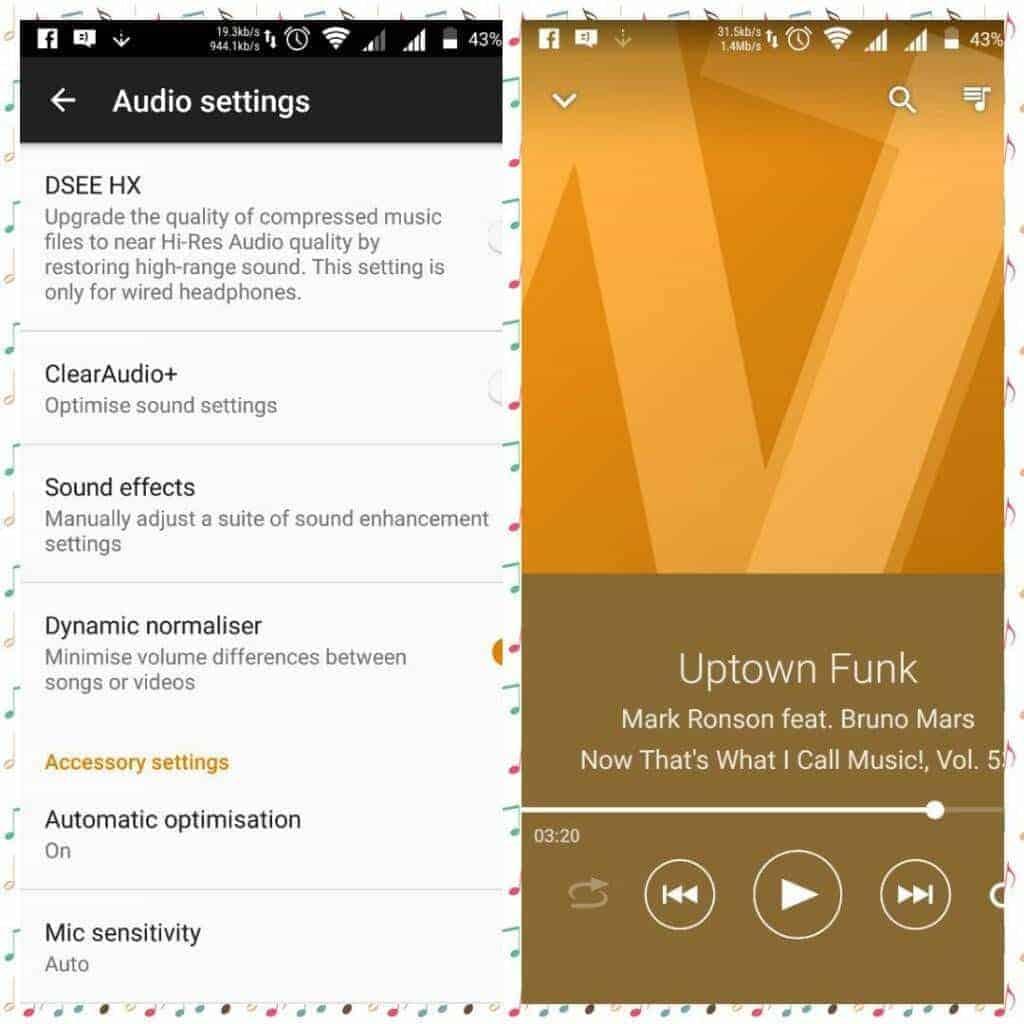 Xperia X music sound enhancement Audio MOD On Redmi Note 3 2