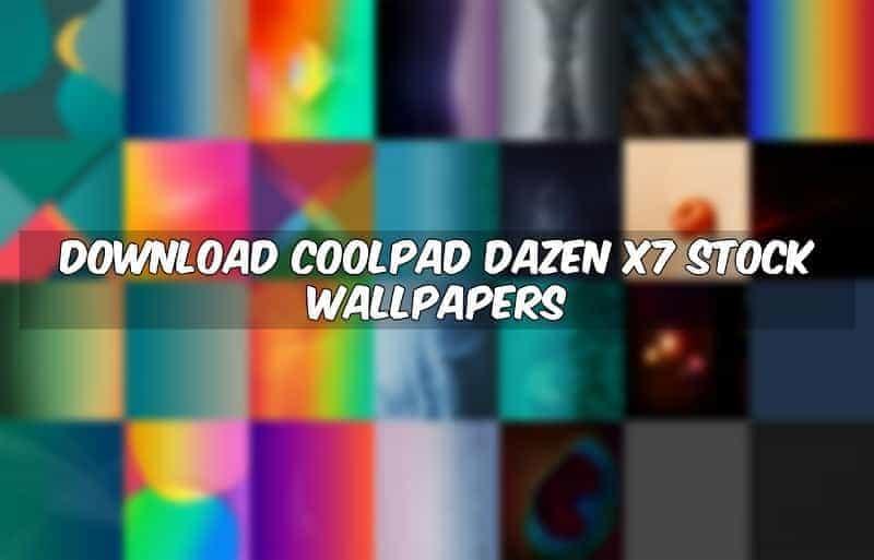 Coolpad Dazen X7 Stock Wallpapers
