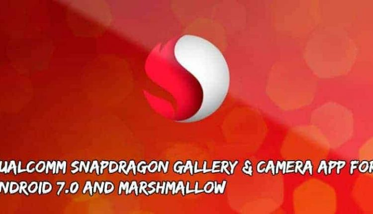 Snapdragon Gallery & Camera App