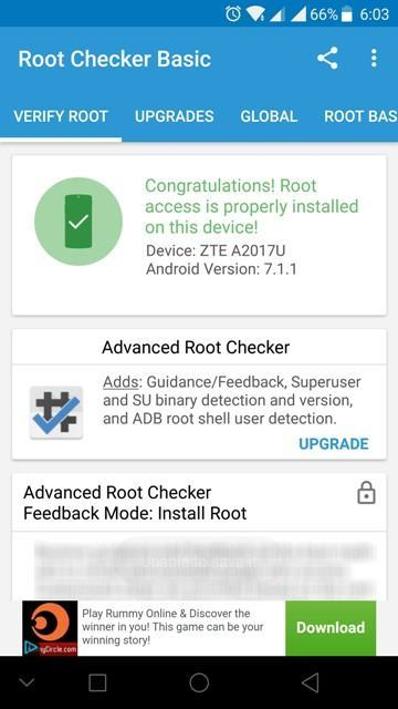 7 Android 7.1 - Guide To Install TWRP 3.1 and Root Zte Axon 7 Android 7.0