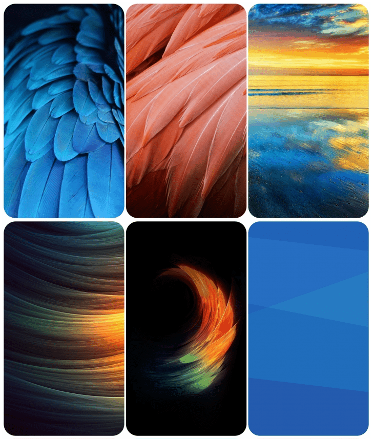 ZTE Blade V7 Max Stock Wallpapers