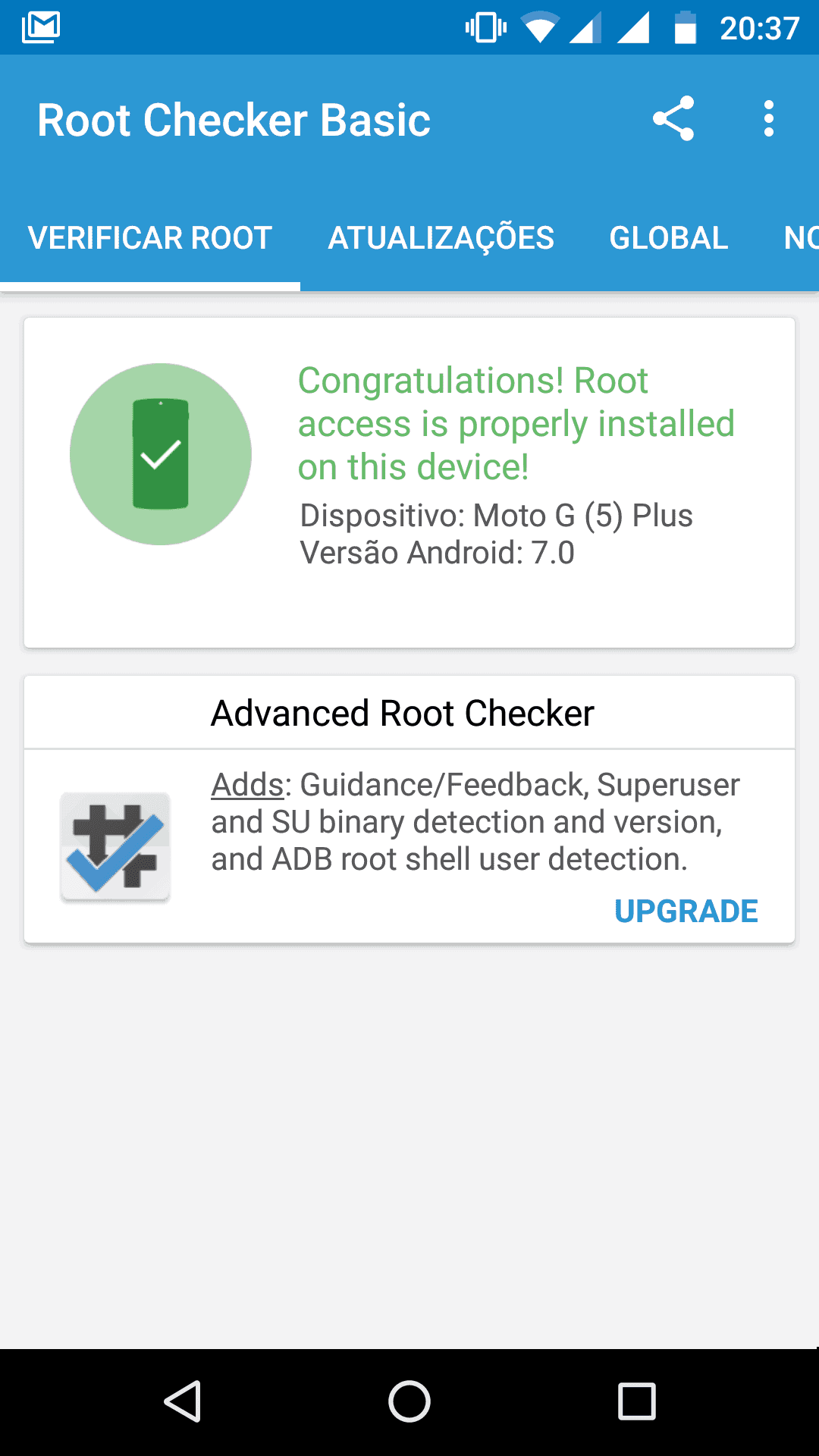 rooted moto g5 plus
