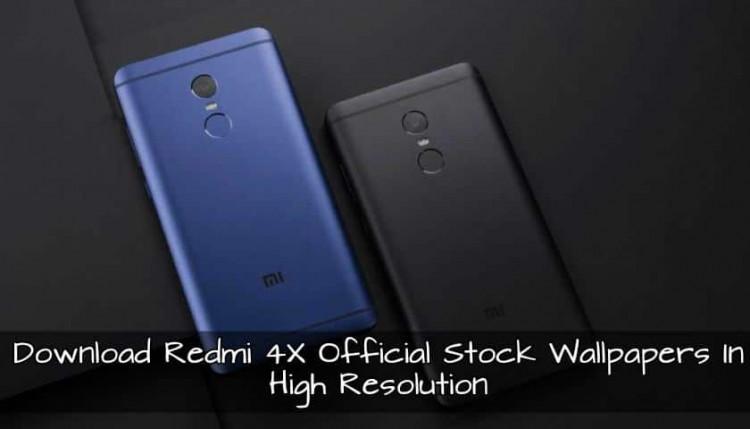 Xiaomi Redmi 4X Stock Wallpapers