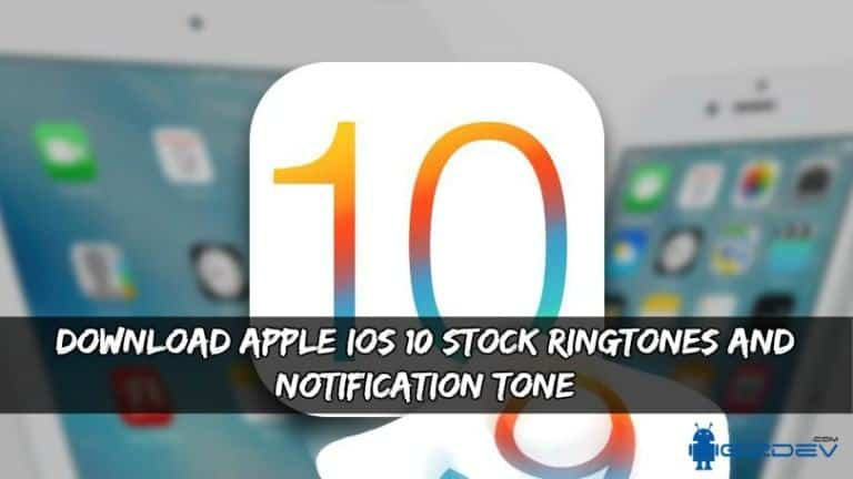 Download Apple iOS 10 Ringtones And Notification Tone