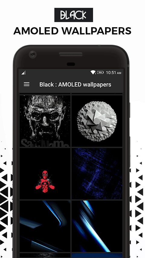 Black Amoled Wallpapers app 2 - Download Black AMOLED Wallpapers App For Dark Backgrounds Walls