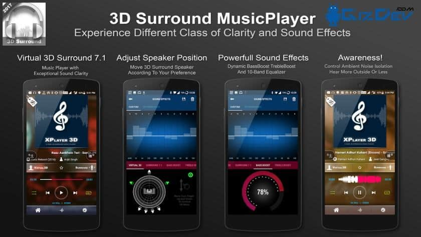 Download 3D Surround Music Player APK (For All Devices)